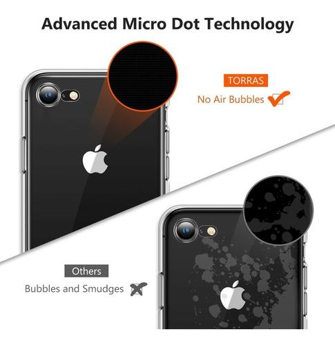 iphone 7 funda tpu 100% transparente protector forro cover