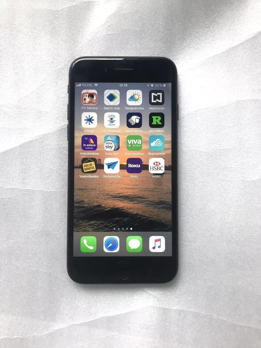 92b1a6dec34 iPhone 7 Libre Apple Mac Black Telcel Movistar Att 128gb Ios ...