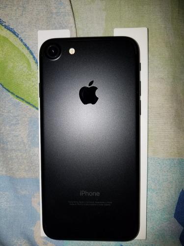 iphone 7 nuevo 32gb matte black + obsequios no cambios