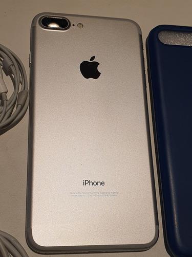 iphone 7 plus 128 gb impecable todo original