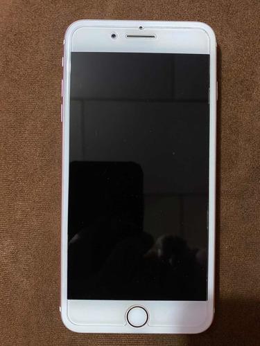 iphone 7 plus, 128 gigas, oro rosa