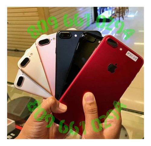 iphone 7 plus 128gb desbloqueados y originales