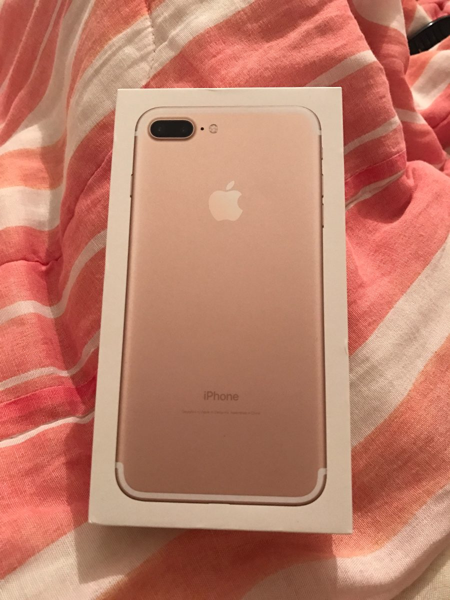 iphone 7 plus 128gb gold ros silver preto mate r em mercado livre. Black Bedroom Furniture Sets. Home Design Ideas