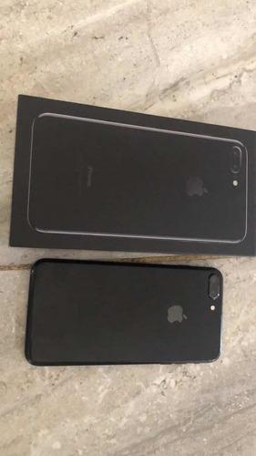 iphone 7 plus 128gb jet black telcel
