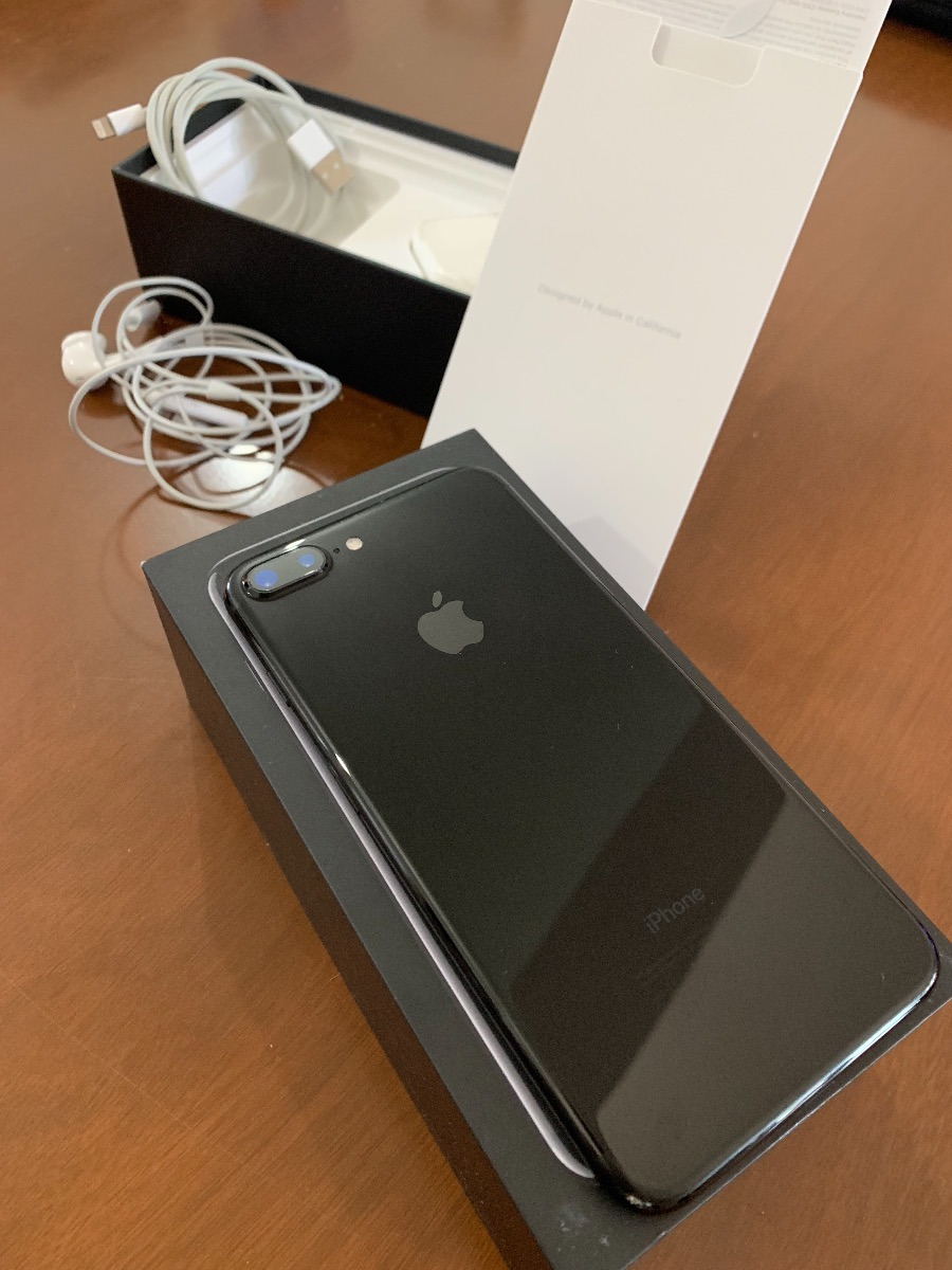 a7a548d5820 iPhone 7 Plus 128gb Negro Brillante En Caja Completa - $ 27.000,00 ...