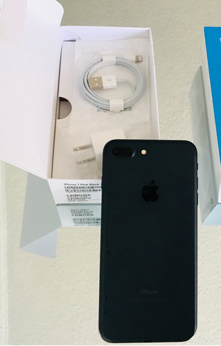 iphone 7 plus 128gb open box 450usd* promo! acepto tarj cred
