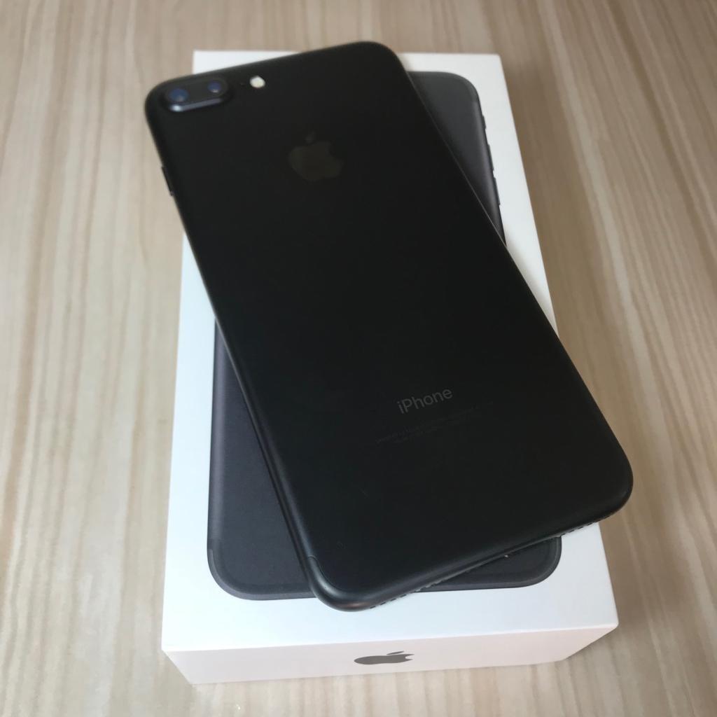 7e98425ba8 iphone 7 plus 128gb preto matte usado + nf do aparelho. Carregando zoom.