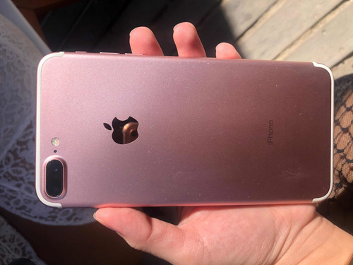 iphone 7 plus 128gb rose trinco imperceptível no cantinho