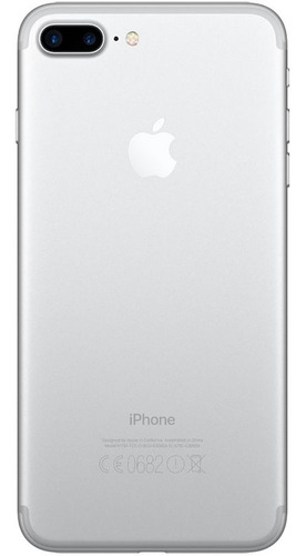 iphone 7 plus 128gb silver plateado