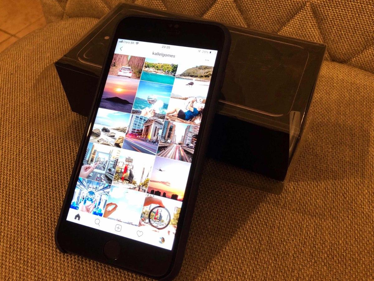 Iphone 7 Plus 256gb Jetblack Impecvel Sem Detalhes Nenhum R Carregando Zoom