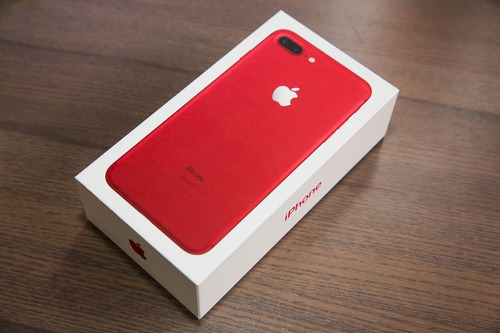 iphone 7 plus 256gb red edicion limitada 5.5' retina dualcam