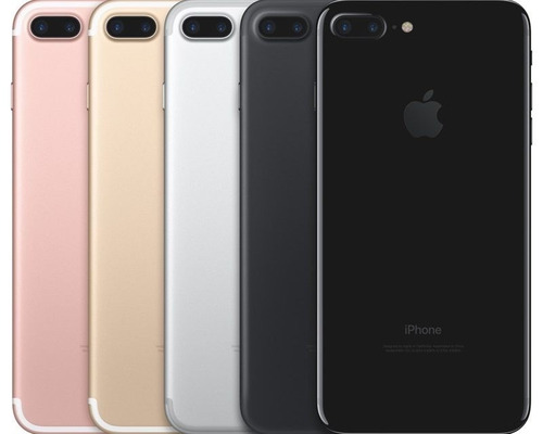 iphone 7 plus 256gb,negro,rosa,dorado nuevo sellado+garantia