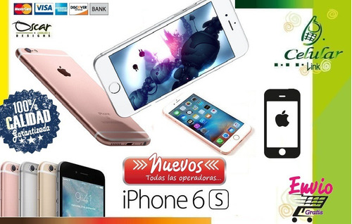 iphone 7 plus 32, 128, nuevos