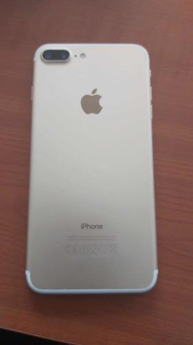 iphone 7 plus 32 gb de color dorado 10/10