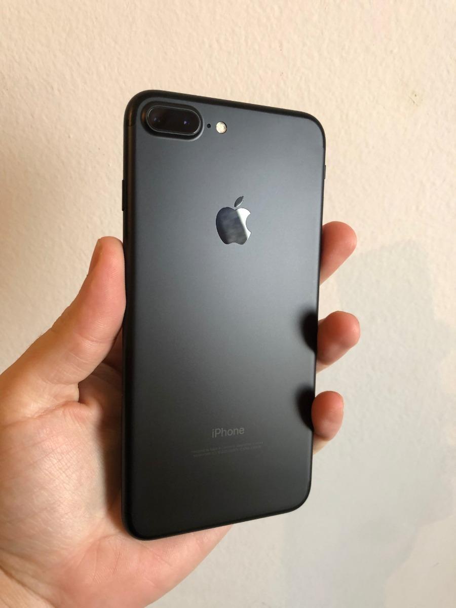 96ca37dfd6b iPhone 7 Plus 32 Gb Negro Mate Igual A Nuevo, Libre - $ 36.500,00 en ...