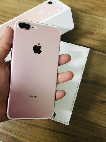iphone 7 plus 32 gb, novo, na caixa