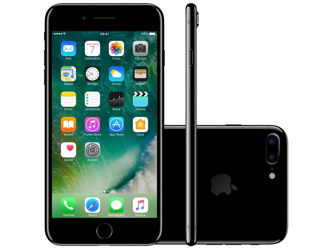 iphone 7 plus black jet 128gb