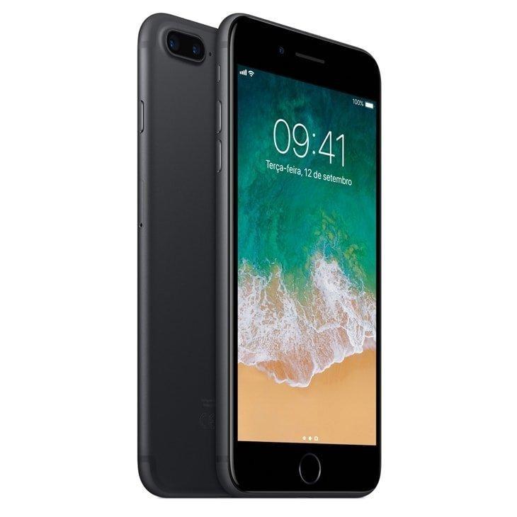 07fe383a70 iPhone 7 Plus Apple Preto Matte 128 Gb, Desbloqueado - R$ 4.384,98 ...