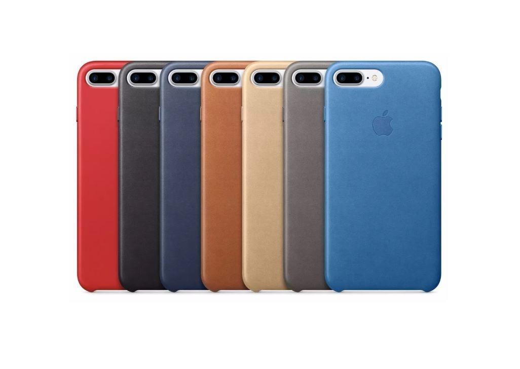 5588f872860 iPhone 7 Plus Carcasa Tipo Original Cuero Apple Leather Case ...