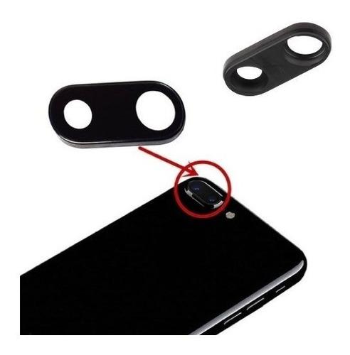 iphone 7 plus cubierta lente cristal camara trasera protecto