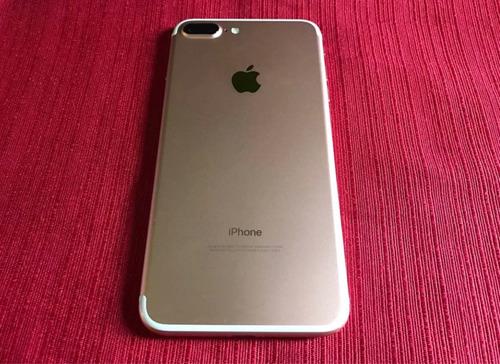 iphone 7 plus de 256gb dorado en perfecto estado