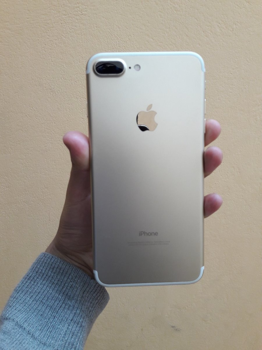 97faf8afbe9 iPhone 7 Plus Dorado Ishop 128gb 4glte !!!! - S/ 2.400,00 en Mercado ...