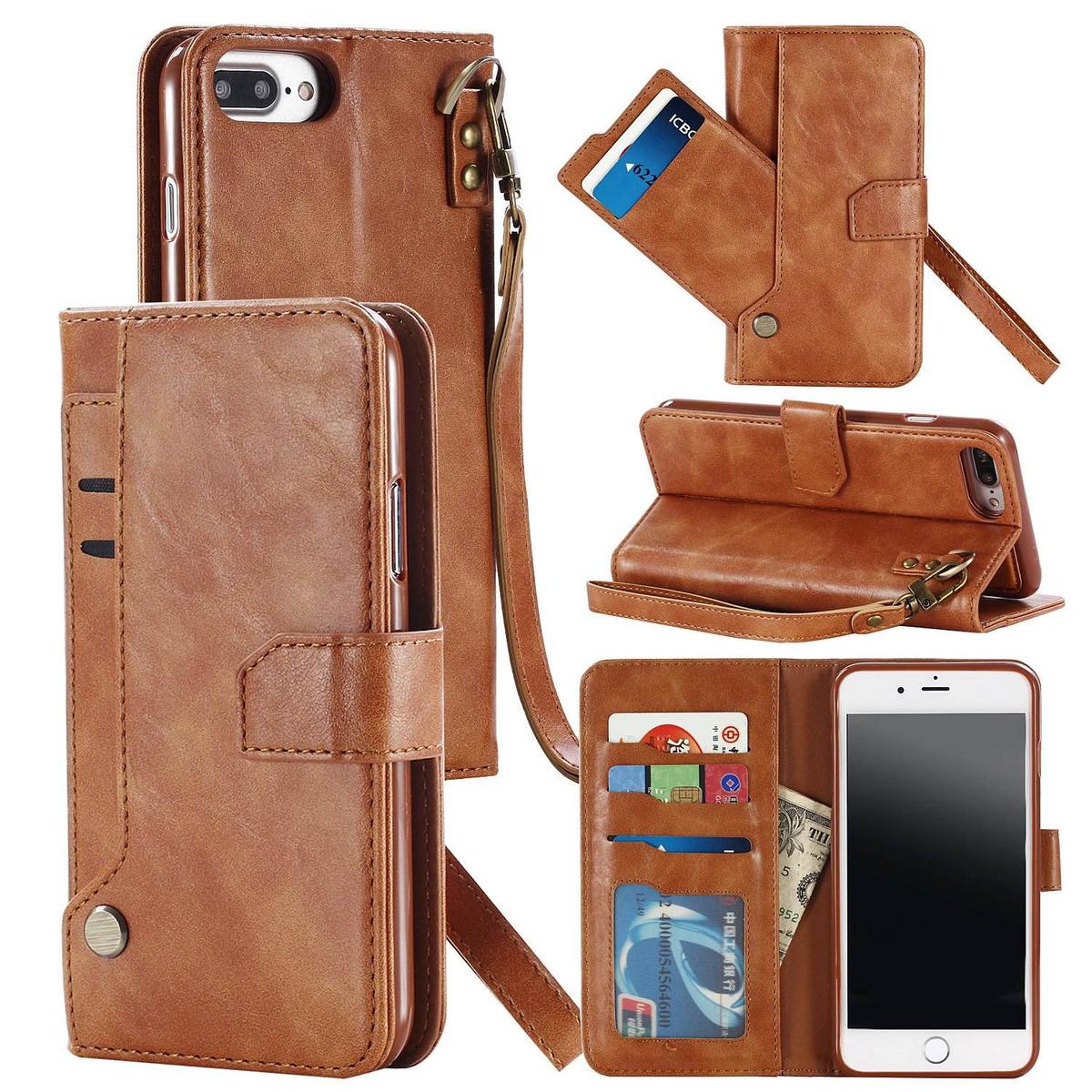 a14a2ac1aa2 iphone 7-plus funda, walago iphone 8-plus detachable wallet. Cargando zoom.