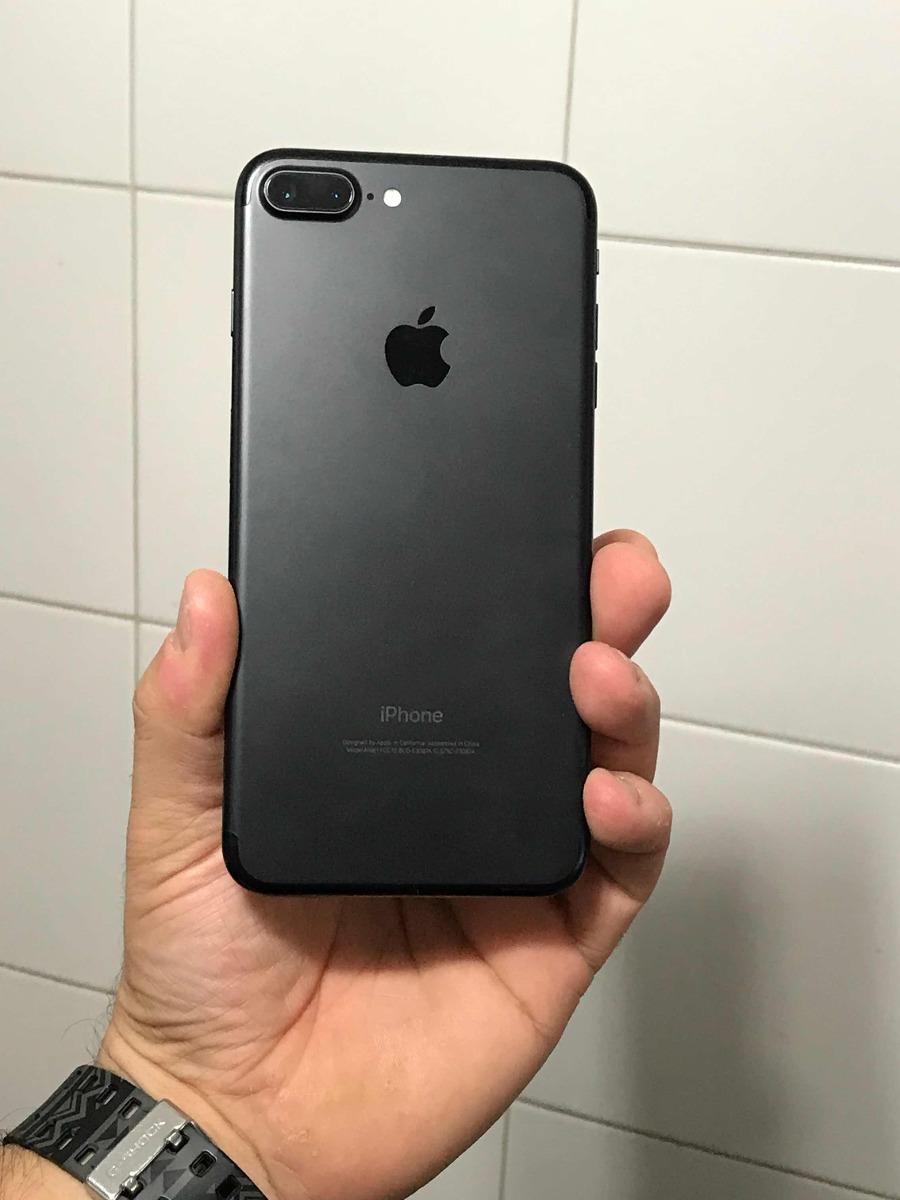 b7505445737 iphone 7 plus negro mate 128gb impecable oferta d contado... Cargando zoom.