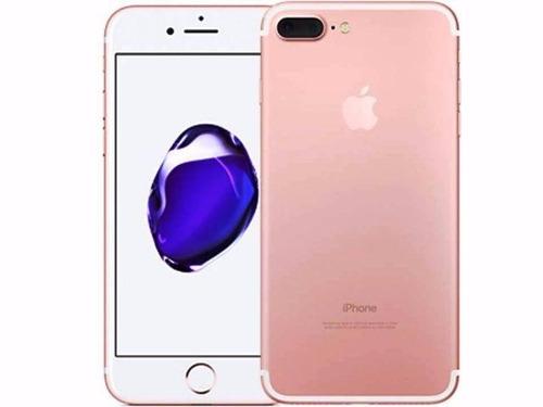 iphone 7 plus rosa 128 gb 100% nuevo, cualquier compañia