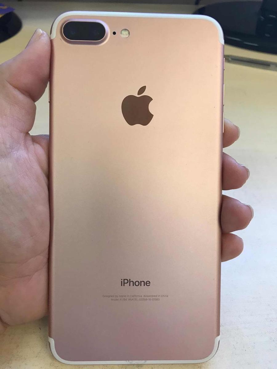 a1e292be25e iPhone 7 Plus Rosa - R$ 2.500,00 em Mercado Livre