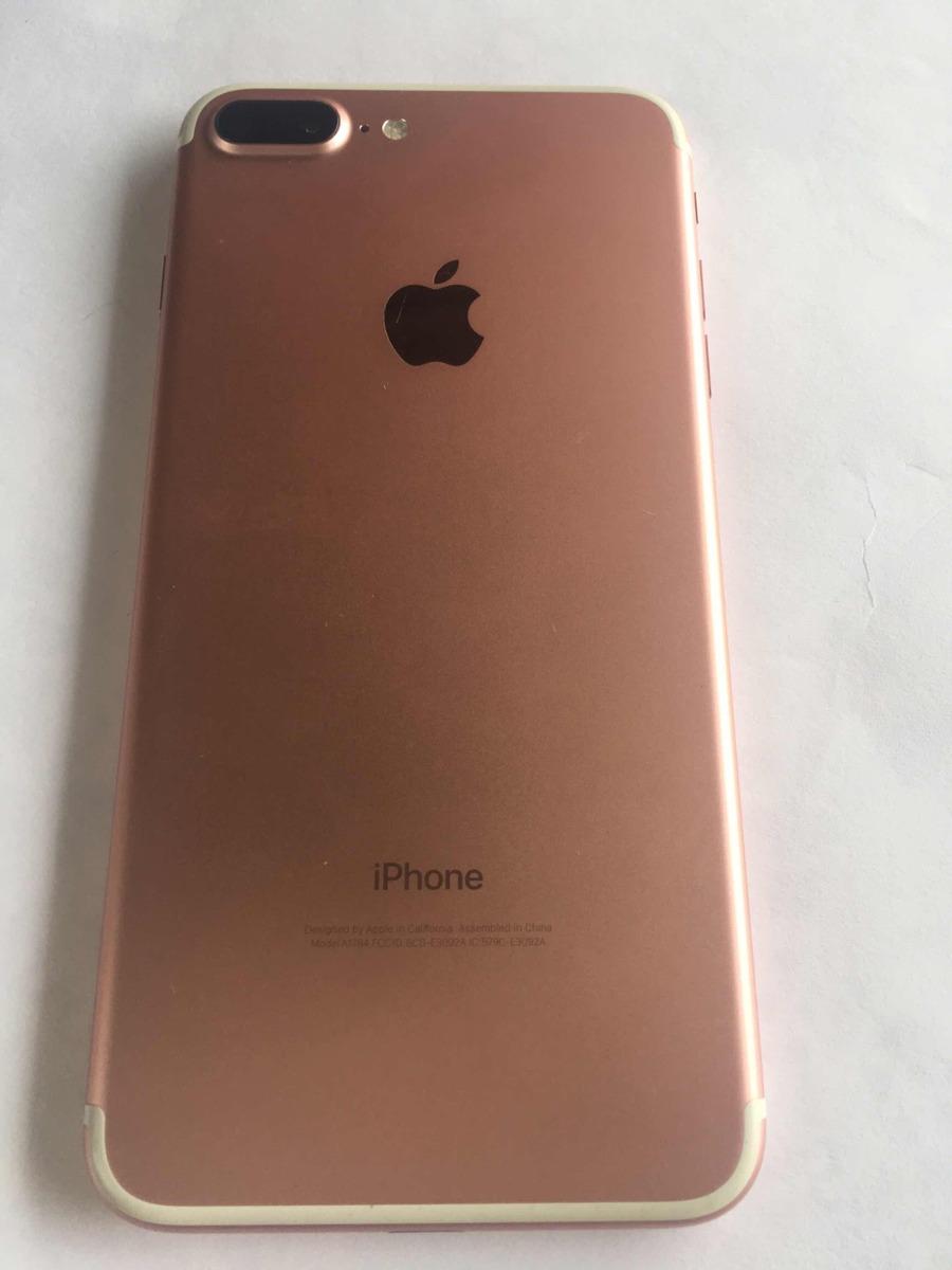 a256fc0f41b iPhone 7 Plus Rose 32gb (estado De Novo) - R$ 2.800,00 em Mercado Livre