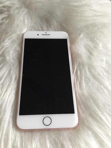 iphone 7 plus rose gold, no funciona(solo p/repuestos)leer