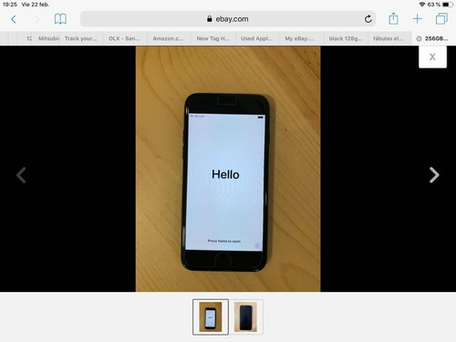 iphone 7 plus solo para repuestos