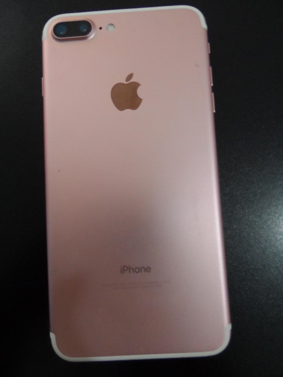 8193200c06f iPhone 7 Plus - Tela De 5,5 - Modelo Rosa Ouro 32gb + Brinde - R ...