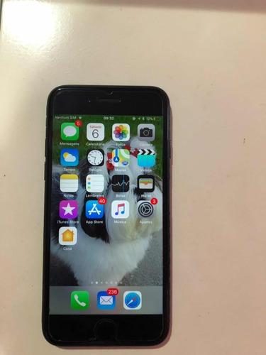 iphone 7 preto brilhante semi novo