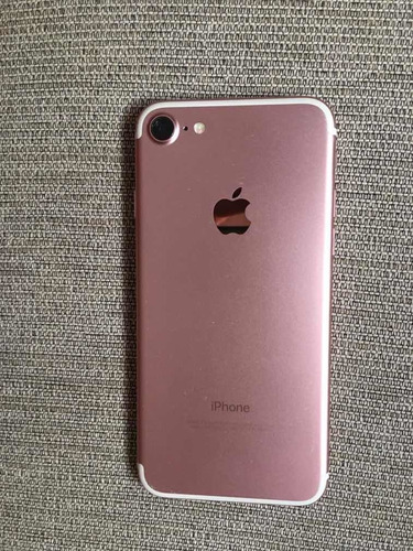 iphone 7 rosa impecable