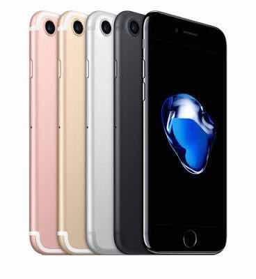 iphone 7 semi nuevos 32gb libres 4g 12mp 4k en caja colores!