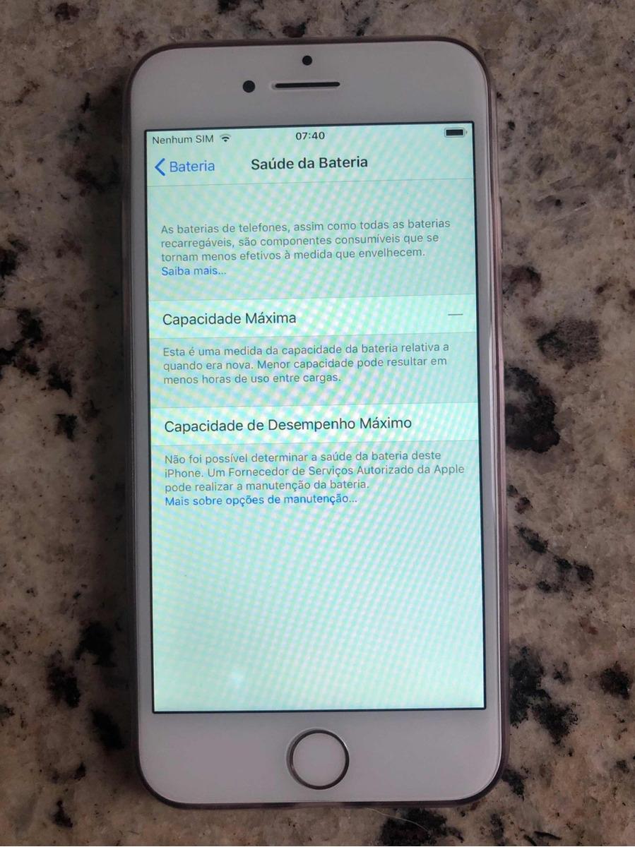764b582a79b iPhone 7 Silver 32gb - R$ 1.430,00 em Mercado Livre