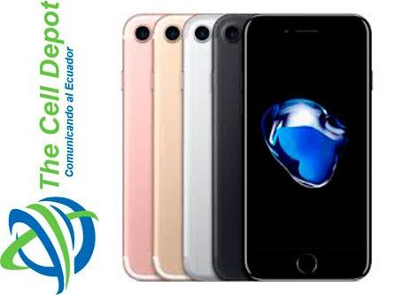 iphone 7 * todas las capacidades * libre de fabrica *