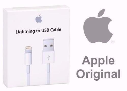 iphone 7,6,6s,5, 5s, 5c cable de datos usb 100% original