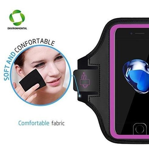 iphone 7/8 plus brazalete - lovphone sport running ejercicio