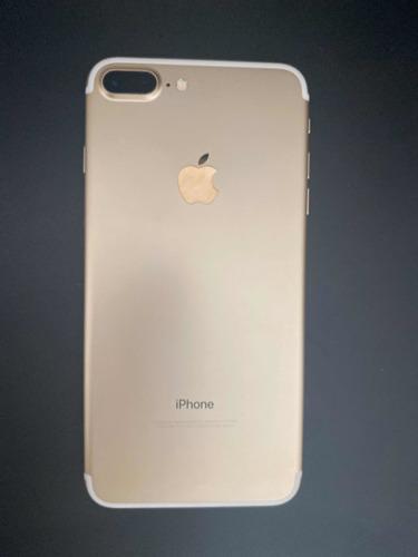 iphone 7plus 128 gb gold excelente estado