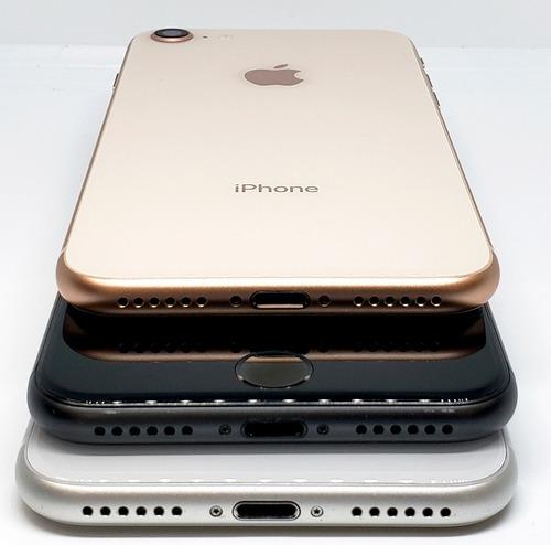 iphone 8 256gb libre fábrica + cargador original + mica