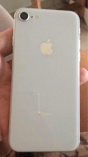 iphone 8 257 giga sem detalhes novinho , troco por um 8 plus