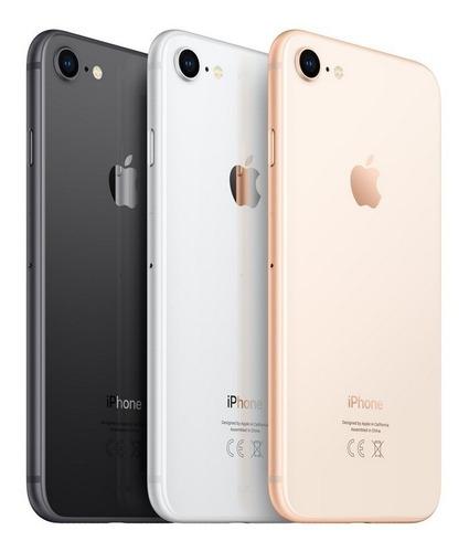 iphone 8 64gb nuevos - sellados - 1 año de garantía.