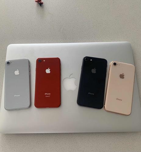 iphone 8 64gb perfectos con accesorios