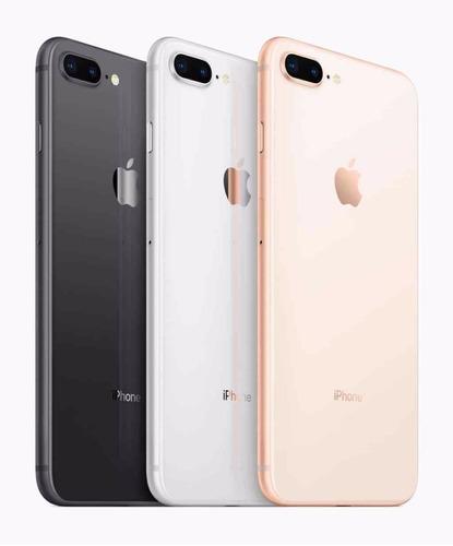 iphone 8 64gb plus black/gold lançamento garantia 1 ano