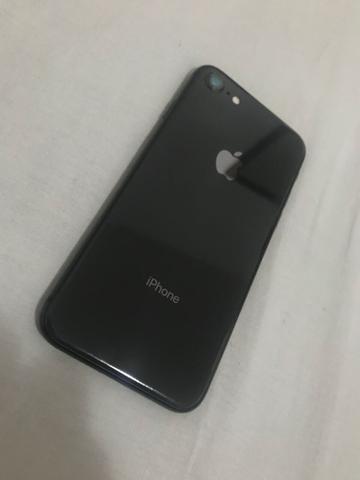 iphone 8 64gb sem caixa de vitrine garantia cinza espacial