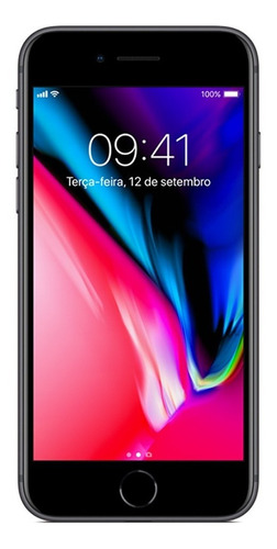 iphone 8 64gb tela 4.7  ios 4g câmera 12mp - apple
