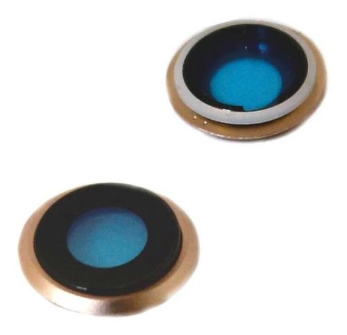 iphone 8 8g cristal lente camara trasera dorado refaccion